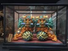 大慶二手家具 祥獅獻瑞藝品收藏擺飾無破損有使用痕跡