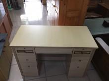 [95成新] 九成五新4尺雙抽造型書桌書桌/椅近乎全新