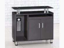 [全新] 烤漆胡桃側邊櫃$2900辦公櫥櫃全新