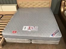 大慶二手家具6x6.6尺德泰床墊雙人床墊無破損有使用痕跡