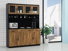 [全新] 尤拉 積層木5.3尺餐櫃碗盤櫥櫃全新