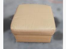 [8成新] F90910*四方皮椅*沙發矮凳有輕微破損