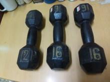 連欣二手傢俱-健身12-16啞鈴其它無破損有使用痕跡