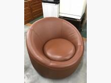 大慶二手家具 咖啡色單人沙發單人沙發無破損有使用痕跡