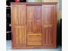 [8成新] B91805*實木大型衣櫃 衣櫥衣櫃/衣櫥有輕微破損
