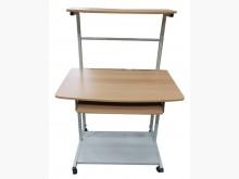 [8成新] E91818*原木色電腦桌*電腦桌/椅有輕微破損