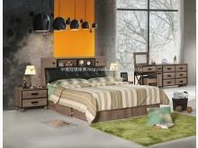 [全新] 2004075-1哈珀6尺雙人床雙人床墊全新