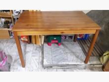 [8成新] 八五成新實木餐桌.4千免運餐桌有輕微破損