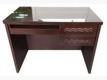 [8成新] E92302*胡桃色3抽書桌*書桌/椅有輕微破損