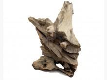 [95成新] 牛樟武達摩 木雕藝術品宏品擺飾近乎全新