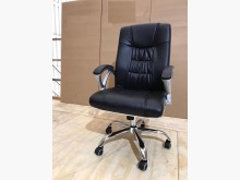 [全新] 新品黑皮鐵腳主管椅(可後仰)電腦桌/椅全新