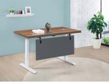 [全新] 淺胡桃色4尺升降辦公桌16700辦公桌全新