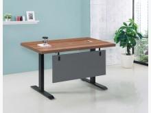 [全新] 淺胡桃4尺升降辦公桌16700辦公椅全新