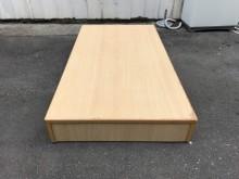 非凡二手家具 山毛色3.5尺床箱單人床架無破損有使用痕跡