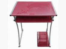 [7成新及以下] E92606*紅色電腦桌*電腦桌/椅有明顯破損