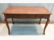 [7成新及以下] E101204*胡桃3抽書桌*書桌/椅有明顯破損