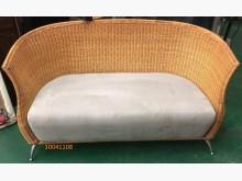 [9成新] 中古/二手 藤製沙發籐製沙發無破損有使用痕跡