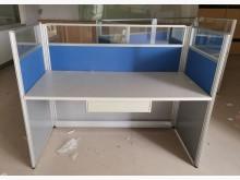 [9成新] 三合二手物流(屏風單人辦公桌)隔間屏風無破損有使用痕跡