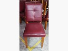 三合二手物流(紅色皮餐椅)餐椅無破損有使用痕跡