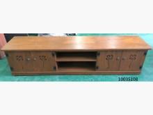 [9成新] 10035108原木色電視櫃電視櫃無破損有使用痕跡