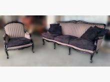 [8成新] A102206*歐風1+3布沙發多件沙發組有輕微破損