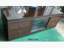 [9成新] 10052108胡桃電視櫃電視櫃無破損有使用痕跡