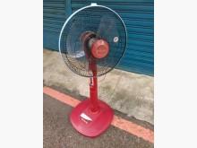 [9成新] 連欣二手家電- 直立式電扇紅電風扇無破損有使用痕跡