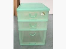 [9成新] A103105*淡綠三抽盒收納櫃無破損有使用痕跡