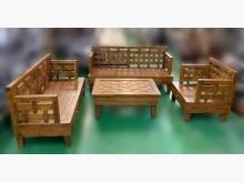 [全新] TK102805新柚木123沙發木製沙發全新