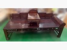[9成新] GT102807*雞翅木羅漢椅*木製沙發無破損有使用痕跡