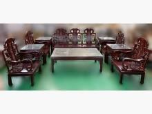 [8成新] RW102804紅木沙發10件組木製沙發有輕微破損