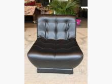 [全新] 全新黑皮單人沙發(可360度旋轉單人沙發全新