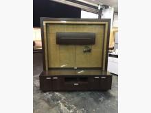 非凡二手胡桃8.2尺電視酒櫃組電視櫃無破損有使用痕跡