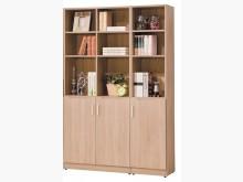 [全新] 工業風北橡色4尺三門書櫃8800書櫃/書架全新