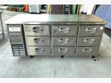 福島工業專用三段抽屜式冰箱冰箱無破損有使用痕跡