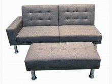 [全新] 全新灰色沙發床L型沙發全新