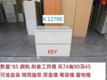 [8成新] K12700 工具櫃 公文櫃辦公櫥櫃有輕微破損