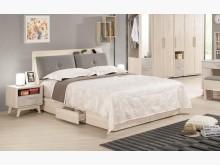 [全新] 漢斯6尺床頭抽屜底床組雙人床架全新