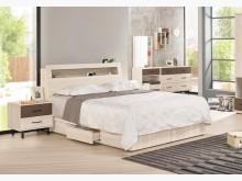 [全新] 戴維斯6尺床頭抽屜底床組雙人床架全新