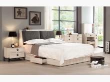 [全新] 達爾維5尺床頭抽屜底床組雙人床架全新