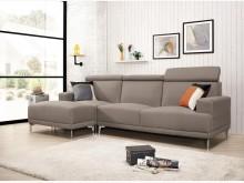 [全新] 格麗達L型貓抓皮沙發L型沙發全新