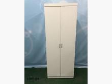 [9成新] 11075108 白色雙吊衣櫃衣櫃/衣櫥無破損有使用痕跡