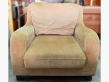 [9成新] 單人沙發 1人沙發 布面沙發單人沙發無破損有使用痕跡
