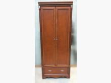 [8成新] B112616木頭色衣櫃*衣櫃/衣櫥有輕微破損