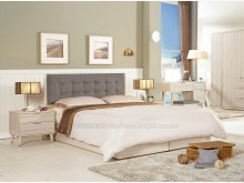 [全新] 2004049-1愛莎六尺床雙人床架全新