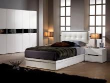 [全新] 2004127-1波爾卡單人床單人床架全新