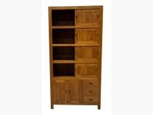 [全新] 新布拉格柚木滑門書櫃 酒櫃其它櫥櫃全新