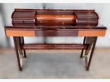 [8成新] E122401*風琴造型化妝桌鏡台/化妝桌有輕微破損
