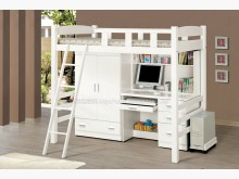 [全新] 2004179-1貝莎功能挑高床單人床架全新