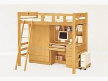 [全新] 2004181-1貝莎檜木挑高床單人床架全新